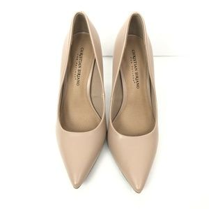 Christian Siriano Payless Nude Pointed Toe Pumps